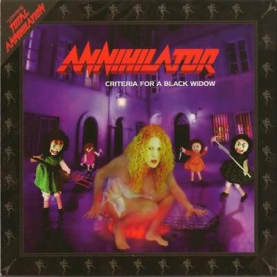 Annihilator - Criteria For A Black Widow