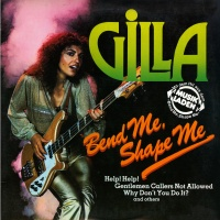 Gilla - Bend Me, Shape Me (Japan, Hansa International SUX-115-SA)
