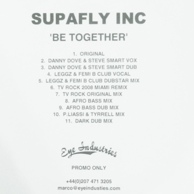 Supafly - Be Together (Single)
