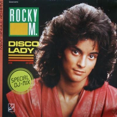Rocky M - Disco Lady (Vinyl 12'') (Single)