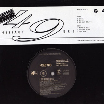 49ers - The Message (Single)