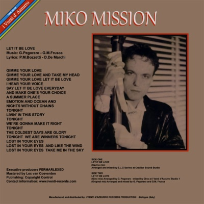 Miko Mission - Let It Be Love (Single)