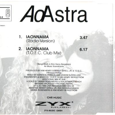 Adastra - Iaonnama (Summer mixes) (Album)