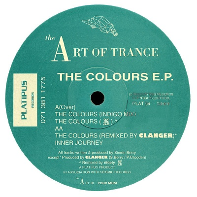 Art Of Trance - The Colours E.P. (Vinyl)