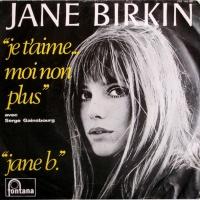 Jane Birkin Avec Serge Gainsbourg  - Jane B
