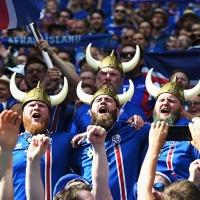 Болельщики Исландии - Калинка-Малинка