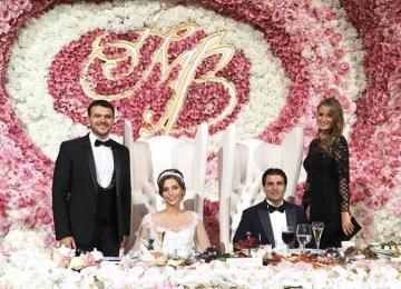 Николай Басков, Эмин и Кэти Топурия «зажгли» на свадьбе миллиардера