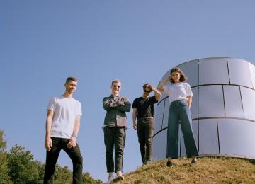 Концерт пост-панк группы Human Tetris