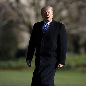 Трамп насмешил людей своим пальто