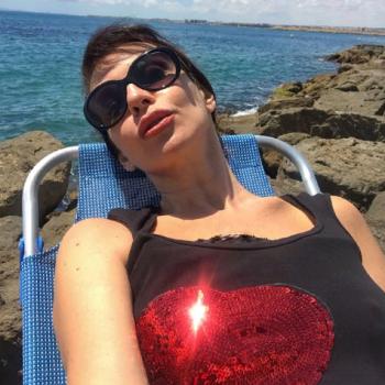 51-летняя Наталья Штурм показала поклонникам голую грудь
