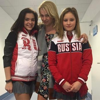 Яна Рудковская не поскупилась на подарок для Юлии Липницкой