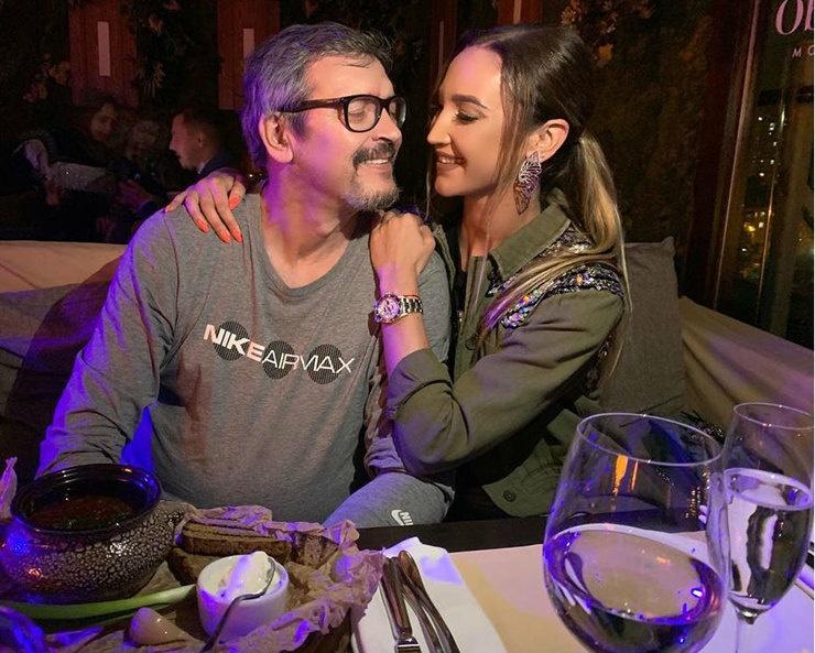 Ольга Бузова отметила праздники с отцом